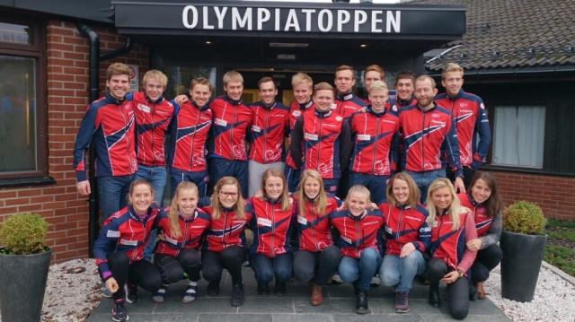 Landslaget 2015 Foto: Eivind Tonna, Norsk Orientering