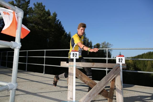 Underveis på kvalifiseringen på NM-mellomdistanse. Foto: Per Ivar Skinderhaug
