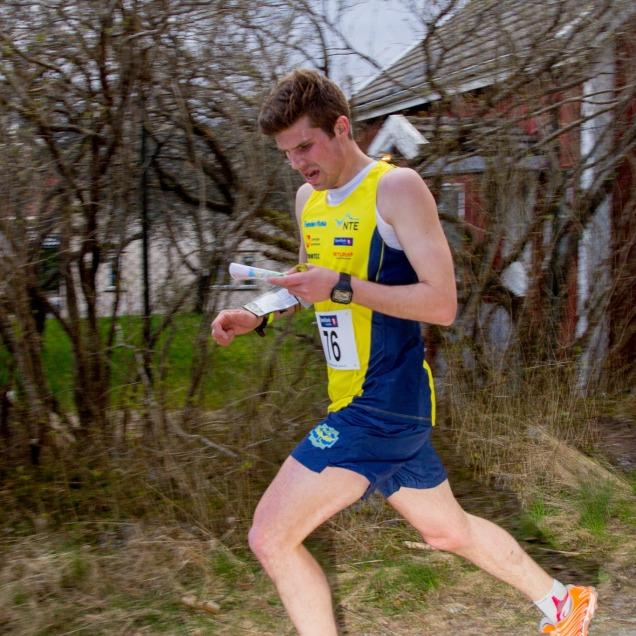 Underveis i sprinten. Foto: Tore Sandvik